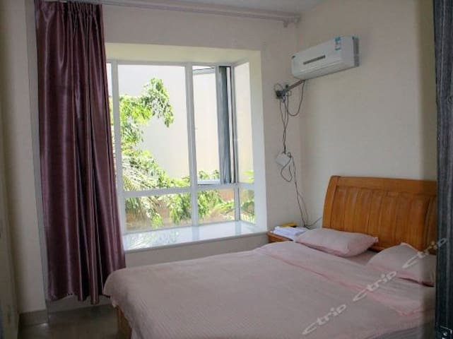 【亚龙湾双静度假公寓】亲子家庭双床套房(8)