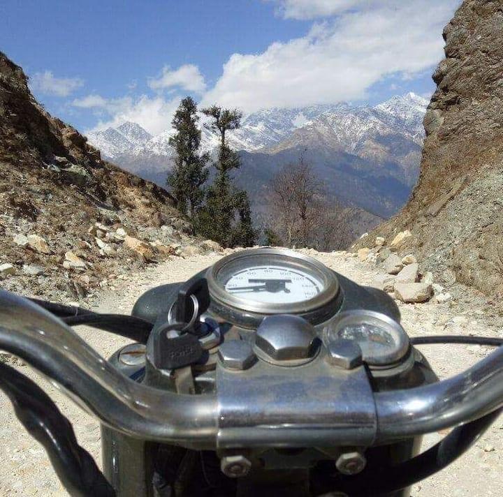 Kapkot-Hidden river mountain town 92 kms to Almora