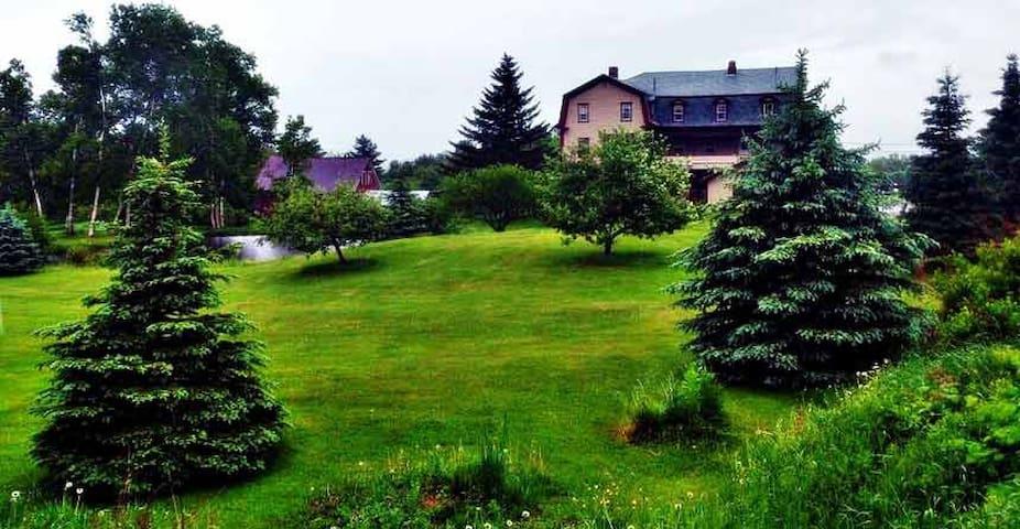 The Gingerbread Inn And Farm Blixem's Village View