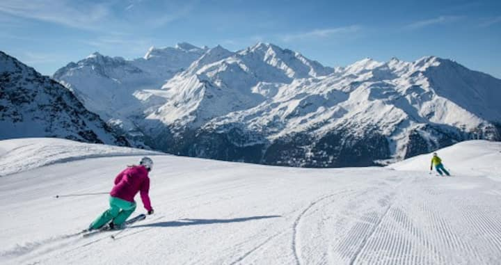 Appartement avec cachet au coeur des Alpes