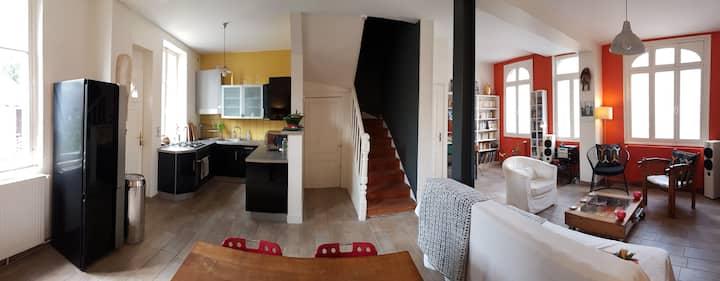 Maison familiale  de charme  Fécamp - Normandie