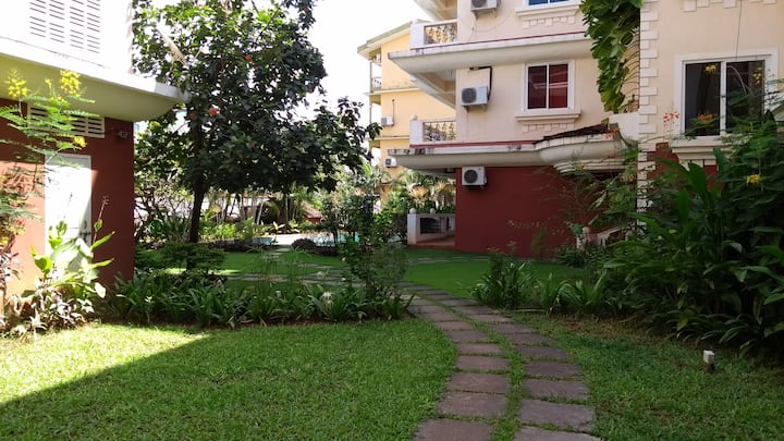Luxurious Apartment at Cavelossim/Mobor, Goa