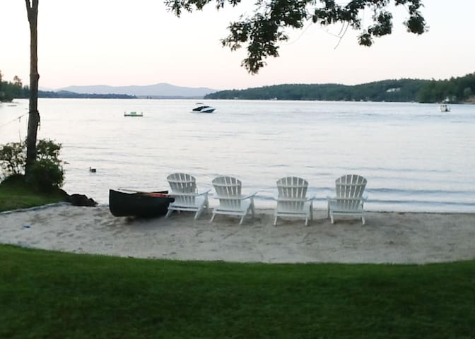 Charming Waterfront Private Collection of Three Cottages on Alton Bay perfect for multiple families