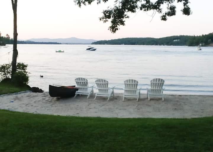 Charming Compound replete with 3 private cottages on Alton Bay