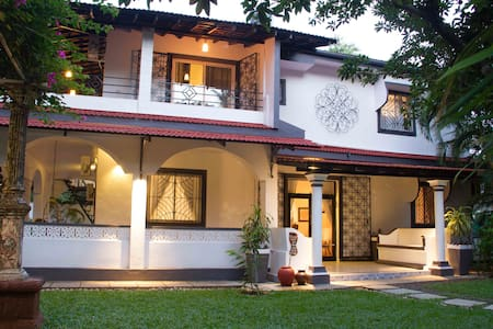 A Luxury Heritage Goan Villa - Serviced & Pvt Pool