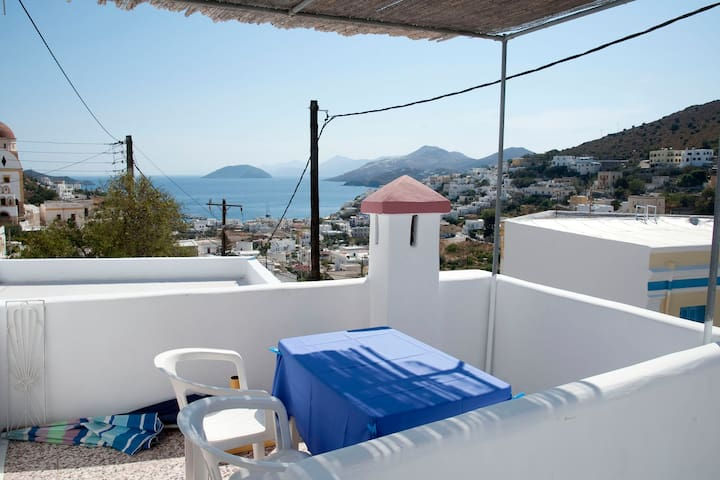 Greek island house for rent  - Leros - Casa