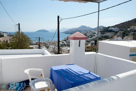 Greek island house for rent  - Leros