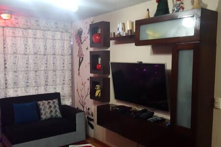 10 min  Cheap apartment Furnished near the airport - Callao - Huoneisto