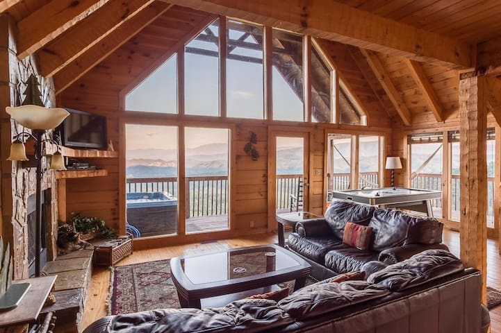 Best views in the Smokies! This cabin has it all!