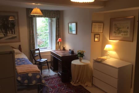 Big Comfy Single Bed In The Cotswold Countryside - Wotton-under-Edge - 独立屋