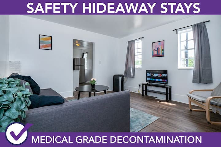 Safety Hideaway - Medical Grade Clean Home 22