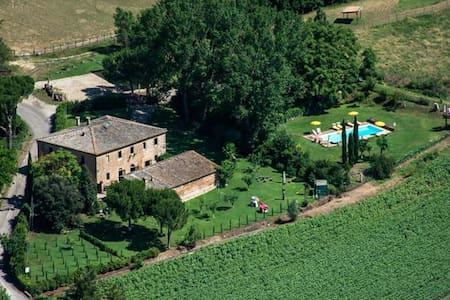 SIENA, San FabIano with heated pool - Monteroni d'Arbia  - Villa