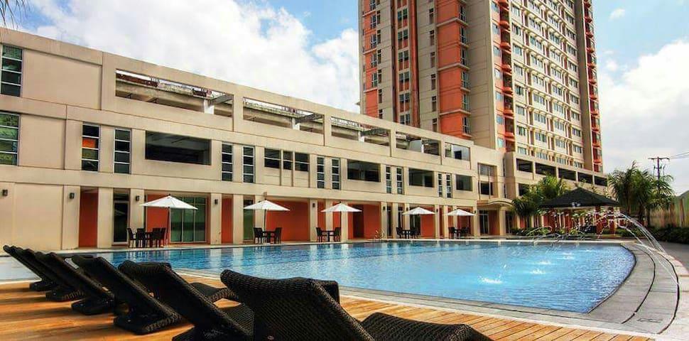 Entire 1 bedroom unit near makati and US Embasy - Manila - Apartment