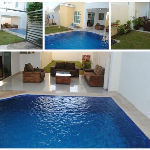 Casa con Alberca Privada - Playa del Carmen - Hus