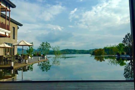 距离天目湖景区300米  享别墅风情 - Changzhou Shi - Raðhús