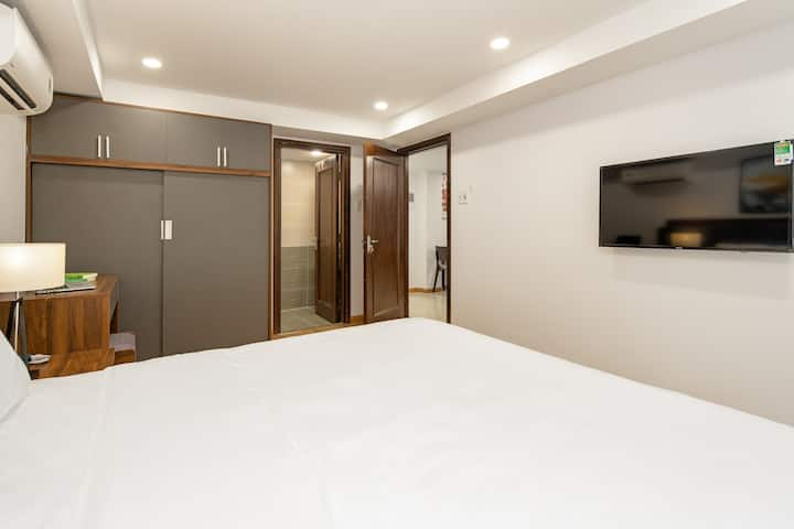 Căn hộ Junior Suite view phố