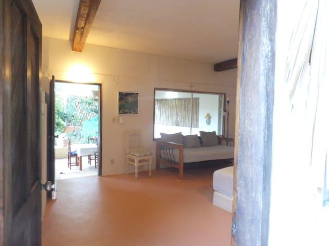 Bedroom from entrance - towards sala