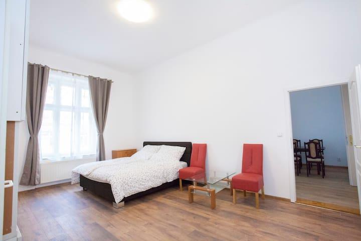 Original and quite apartment in heart of Prague,
