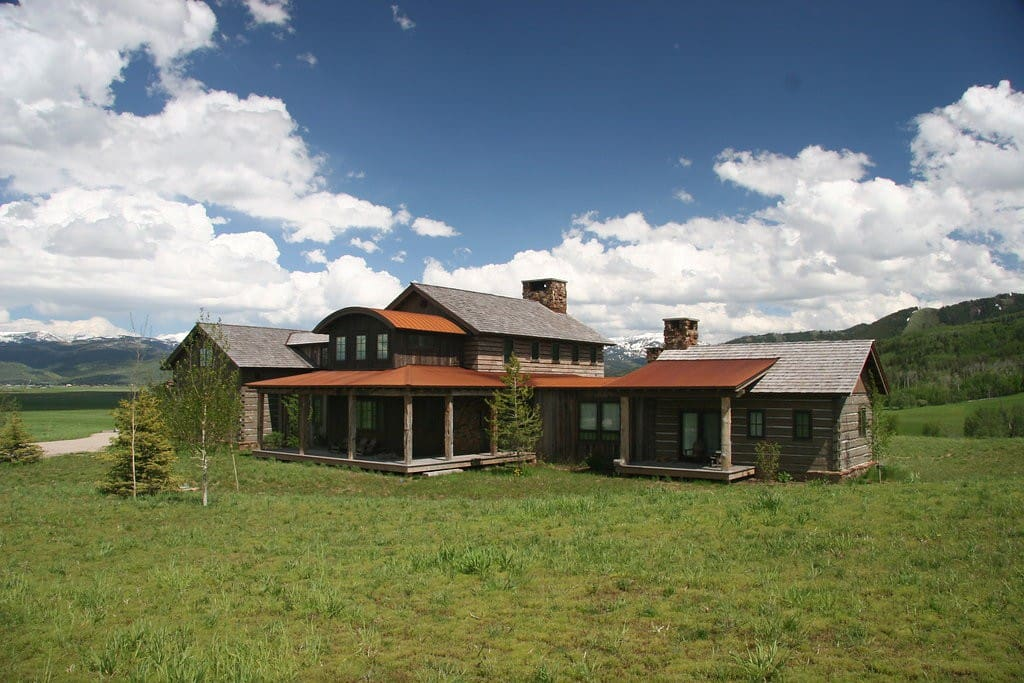 Very private setting in Teton Valley!