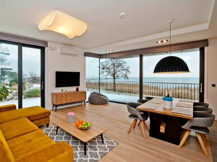Seaview apartment/Widokowy z tarasem ZK 5