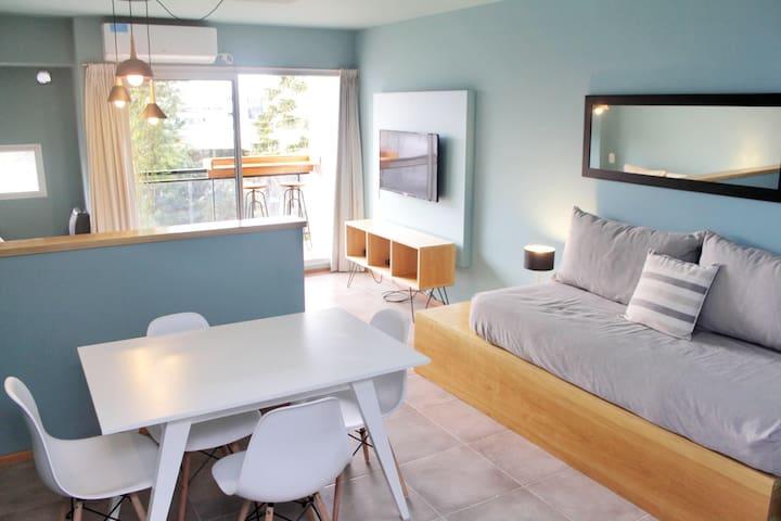 Hermoso semi piso, creado con diseño y calidad.