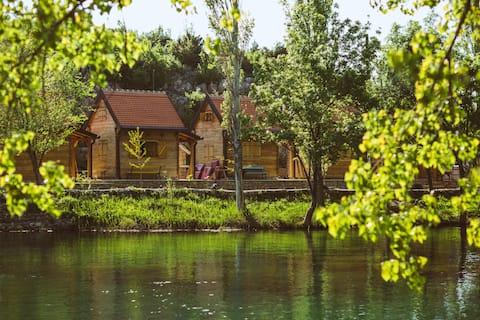River huts Zrmanja - hut 2