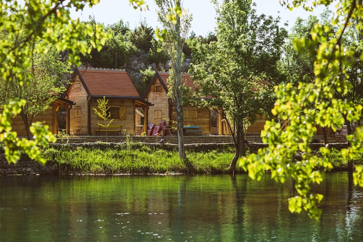 River huts Zrmanja - hut 2
