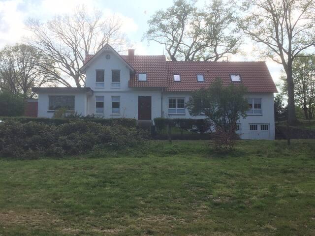 Cooles Gästehaus b.Hamburg: Alte Tischlerei am See