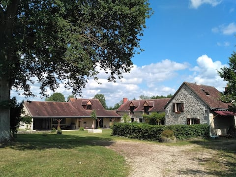 La Chêneraie, proche du zoo de Beauval