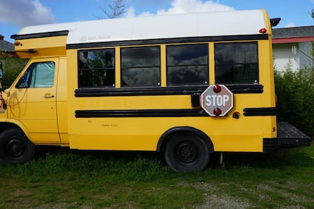 One-of-a-kind Converted Magic School Bus Adventure - Salinas
