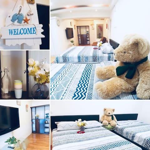熊熊家~希望能提供給大家一個舒適、溫馨的休息空間