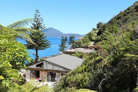Waterfall Cabin, Waitata Bay, Marlborough Sounds