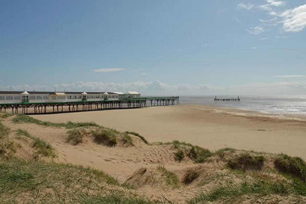 St Anne's Beach and Pier