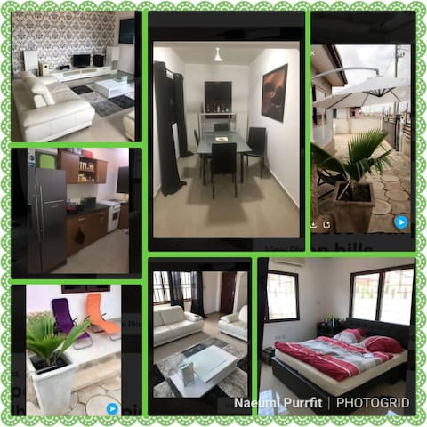 European styled 3bedhouse with pick up legon hills