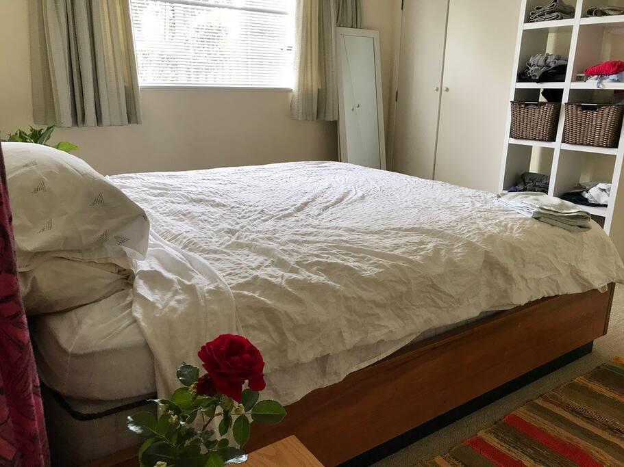 Master Bedroom, gets lots of morning sunlight
