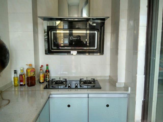 現代化家居室 - Meishan - Apartamento