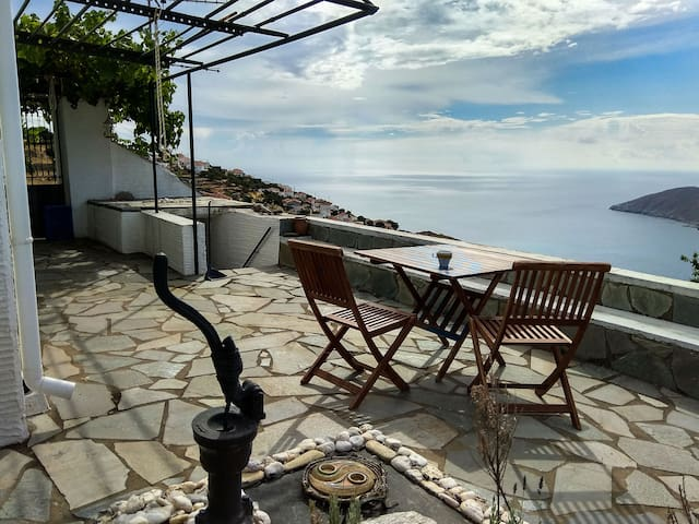 Enjoy your coffee with a magnificent view