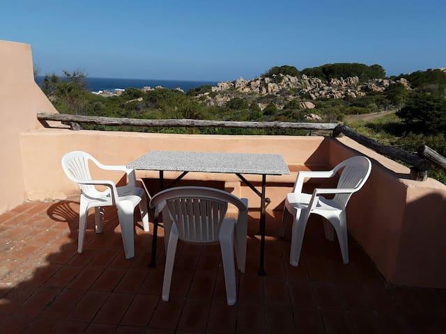 Sardegna,delizioso bilocale vista mare - Canneddi - Maison