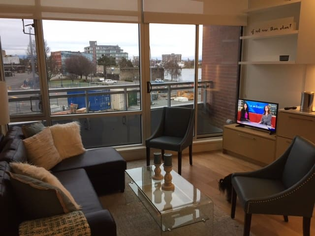 Waterfront Studio Condo - View of Victoria Harbour