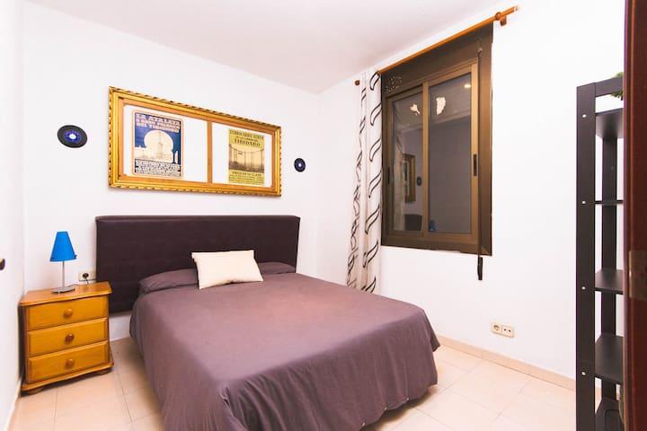 Double bedroom Plaza Catalunya