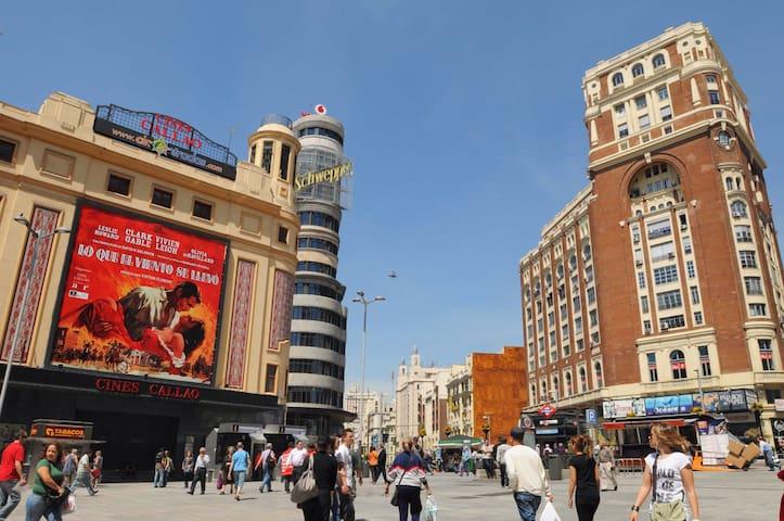 /ROOM IN THE HEART OF MADRID - Madrid - Condominium
