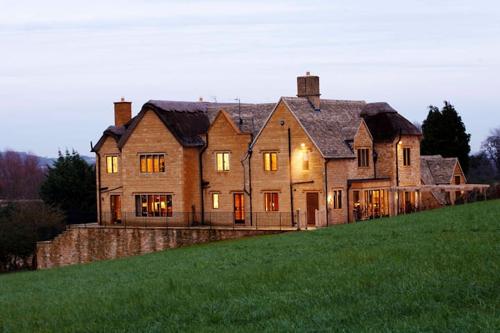 Elegant Cotswold home with indoor pool and sauna - Chipping Campden - Casa