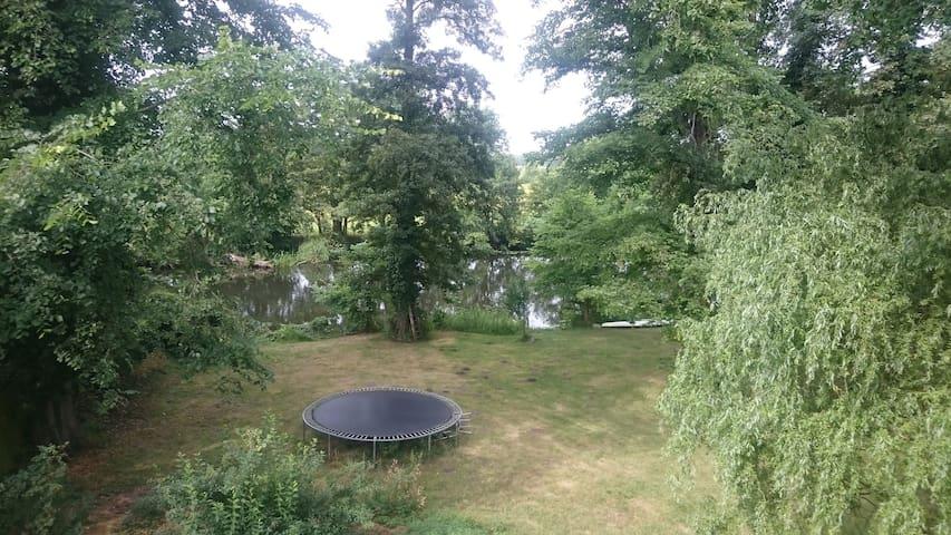 Ferienwohnung in Traumlage an der Spree bei Berlin - Erkner - Apartemen