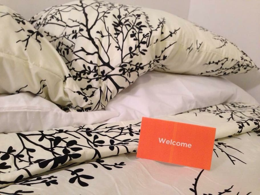 Welcome to our home. We expect you will have a lovely stay.
