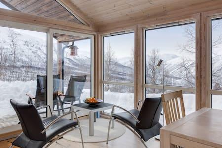 Cabin with incredible views at Gramstølen - sauna!