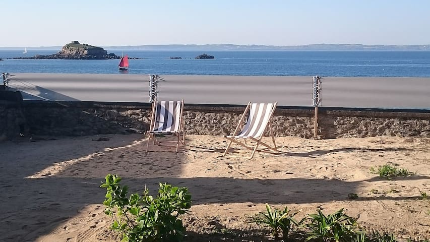 Direct access to the beach - Douarnenez - Apartment