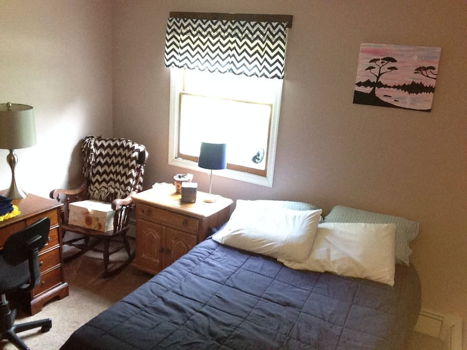 2nd guest bedroom with full bed