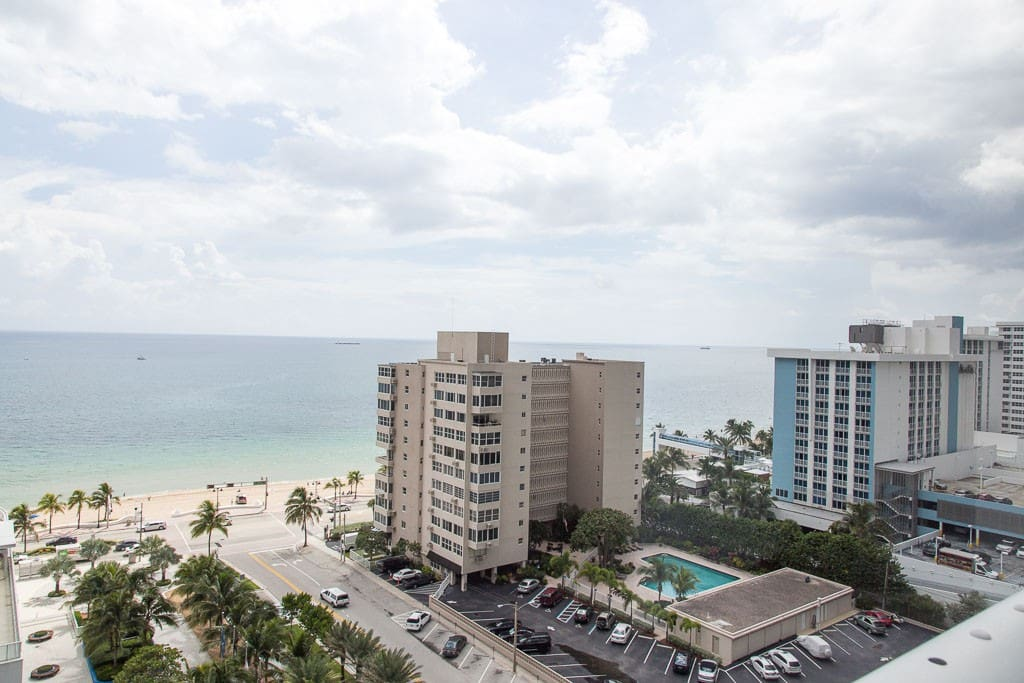 Balcony View Fort Lauderdale Beach!