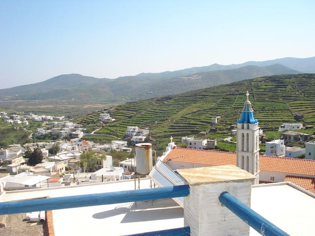 Wonderful tradional greek stone house (115 sq.m) - Tinos - Casa