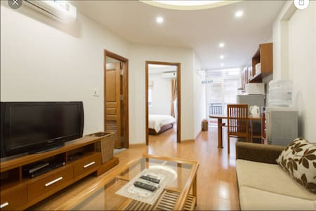 L502 Palmo Serviced Apartment 1BR Private Balcony - Liễu Giai